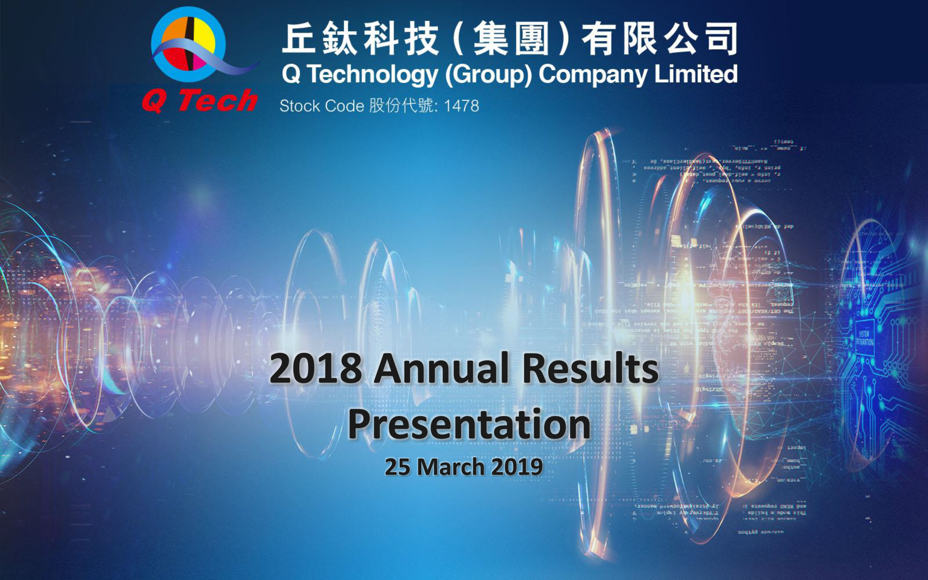 Annual Results Presentation of 2018